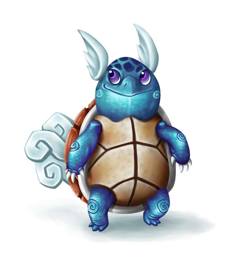 Pokemon - Wartortle by Grosbluff