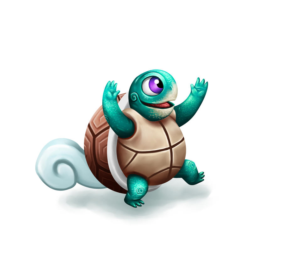 Pokemon - Squirtle by Grosbluff