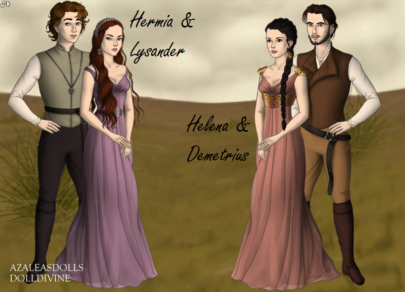 an analysis of the relationship of hermia and helena Free essay: hermia and helena's relationship has changed greatly after the intervention of puck with the love potion once best friends, they have become.