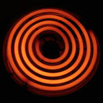 Red Hot Coiled Stove Burner 2