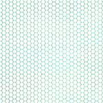 Hexagon Grid Green + White