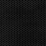 Hexagon Grid Black + Grey