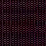 Hexagon Grid Black + Colors