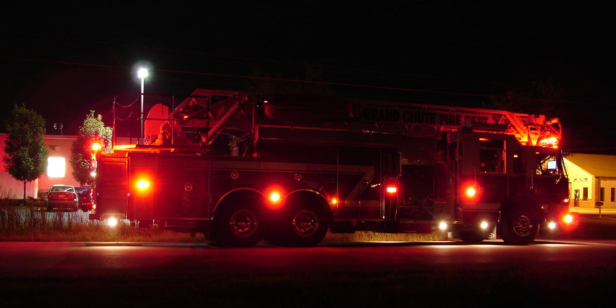 Fire Truck Lights At Night 1 By FantasyStock ... Nice Ideas