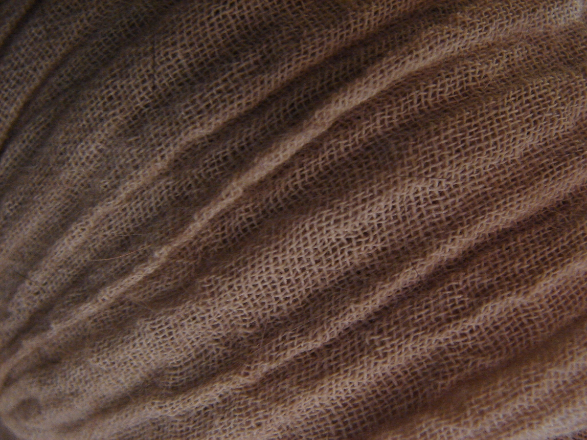Dark Gauze Fabric Texture