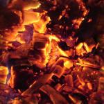 Seamless Hot Coals Texture 1