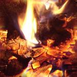 Seamless Hot Coals Texture 2
