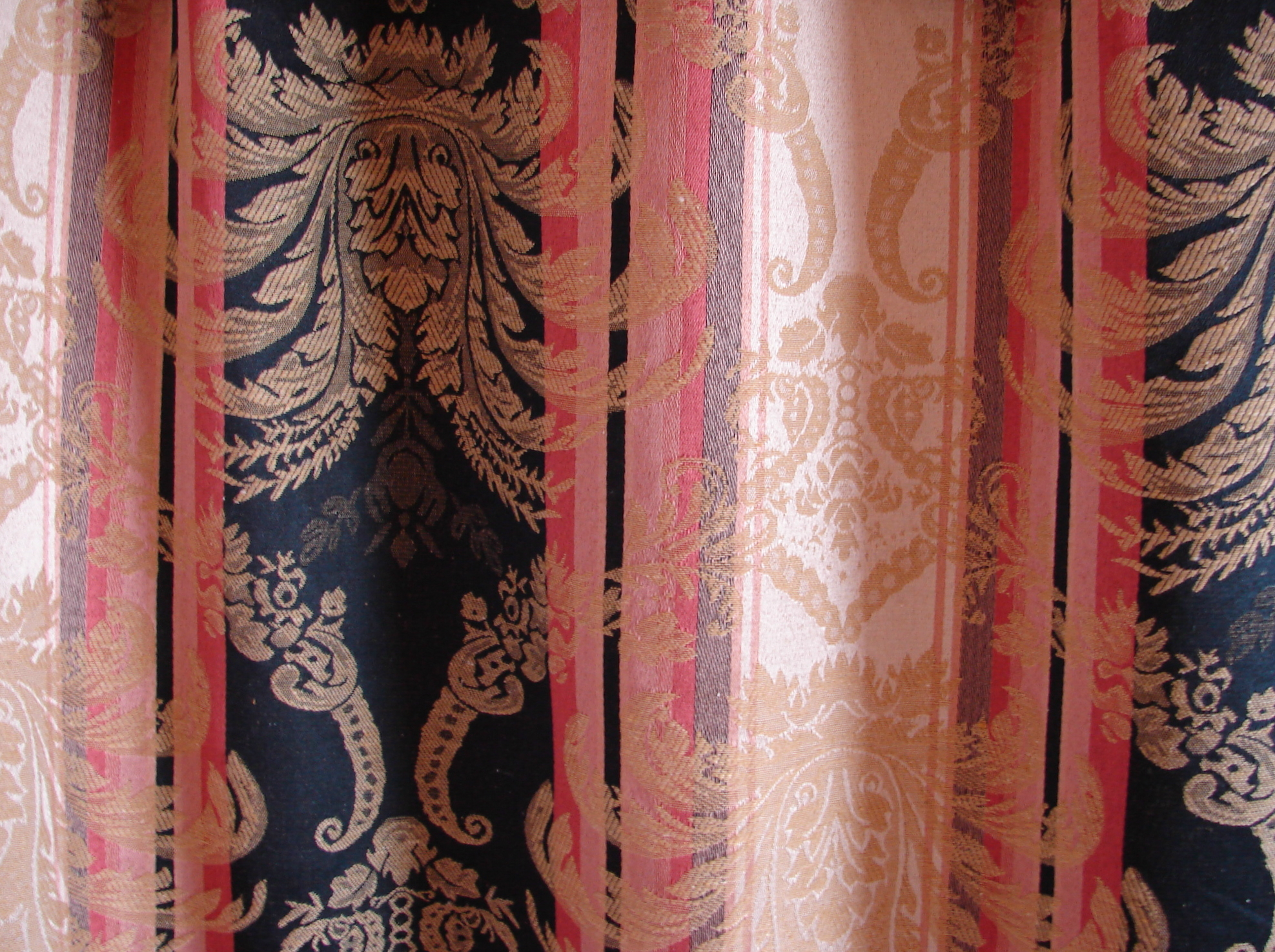 Paisley Curtain Texture