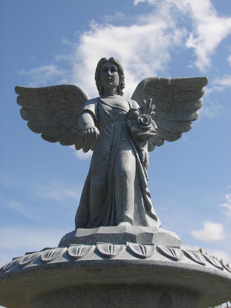 Brand-new Overhead Stone Angel Statue by FantasyStock on DeviantArt MK55