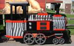 Little Black Zoo Train