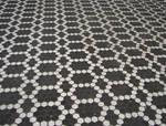 Dark Tile Floor Pattern