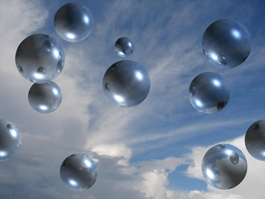 Bubble Sky Background 1 by FantasyStock