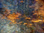 Abstract Fire Storm Texture