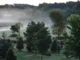 Misty Morning Sunrise 2 by FantasyStock