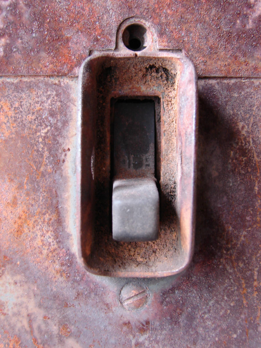 Rusty Mechanical Switch by FantasyStock