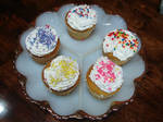 Assorted Decorated Cupcakes 1