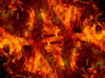 Abstract Fires of Hell Texture