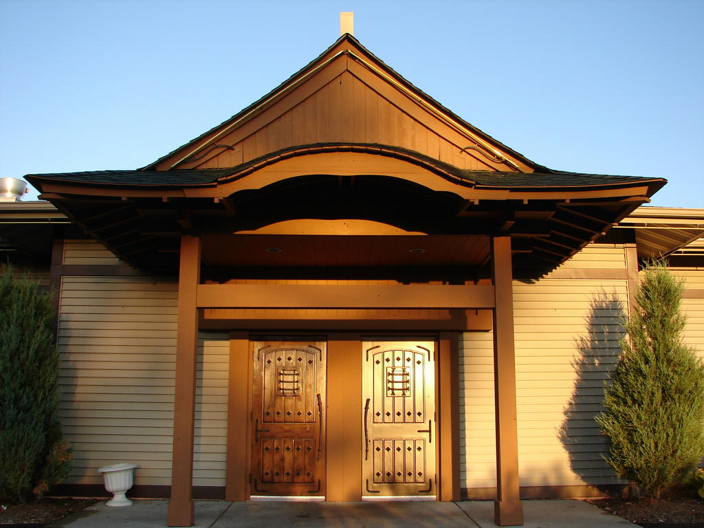Traditional Japanese Restaurant Japanese Restaurant Entrance