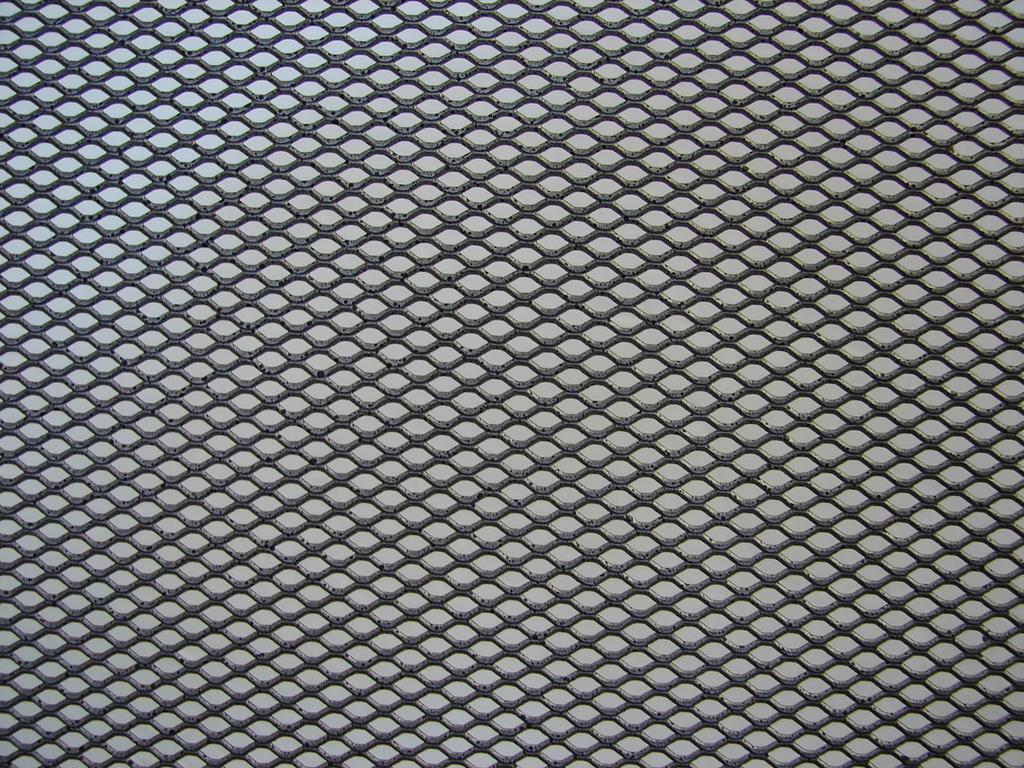 Metallic Grid Texture