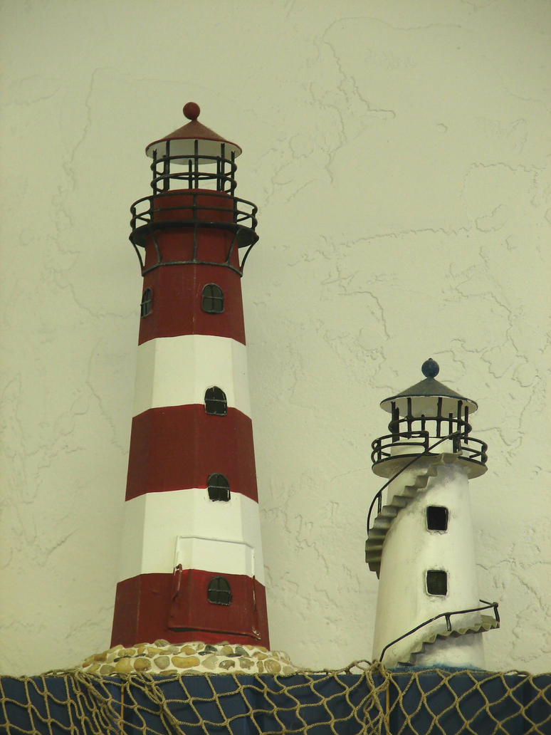 Lighthouse decor for bathroom - Little Lighthouse Decorations By Fantasystock