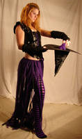 Jodi Purple Halloween Witch 44