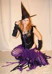 Jodi Purple Halloween Witch 49