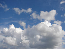 Wild Blue Yonder Sky Clouds 28 by FantasyStock