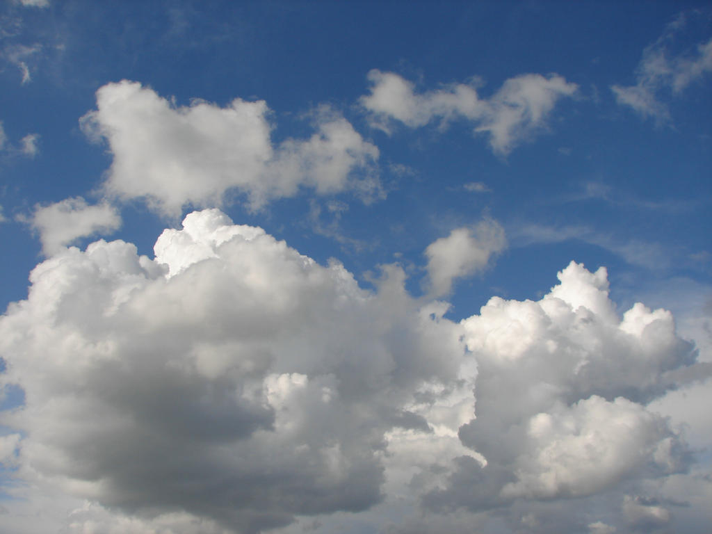 Wild Blue Yonder Sky Clouds 30 by FantasyStock