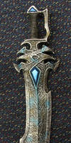 Blue Gem Magical Warrior Sword