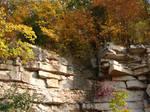 Autumn Cliff Stock Scenery 07