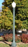 Green Lamp Post