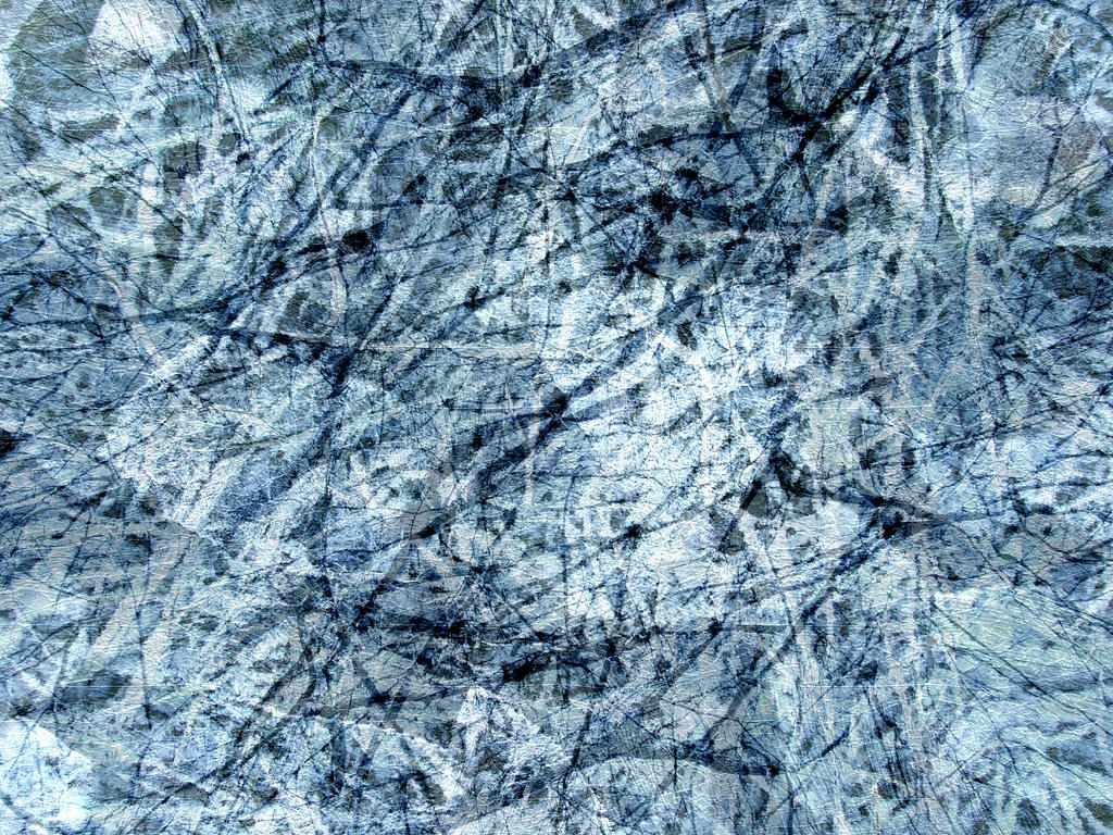 Frozen Blue Abstract Texture