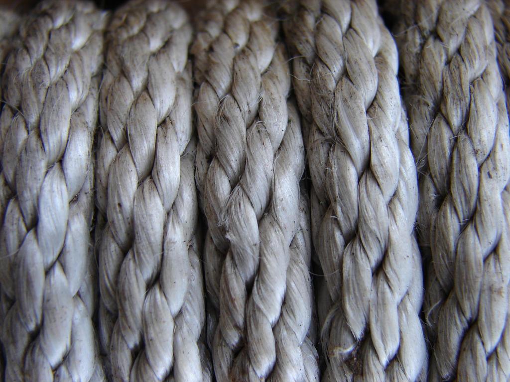Nylon Rope Texture by FantasyStock