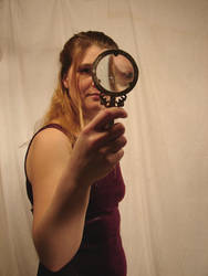 Jodi Magnifying Glass 1 by FantasyStock