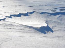 Winter Snow Drift Texture 5 by FantasyStock