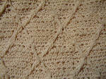 Ivory Silky Woven Texture