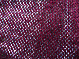 Shiny Burgundy Fabric Texture by FantasyStock