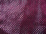 Shiny Burgundy Fabric Texture