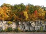 Autumn Cliff Stock Scenery 19