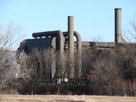 Industrial Factory Backdrop 2