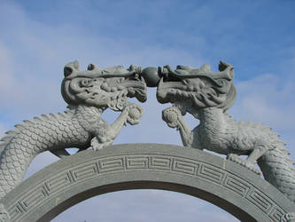 Dragon Gate Revisited 1 by FantasyStock