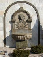 Stone Lion Fountain by FantasyStock
