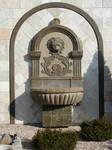 Stone Lion Fountain