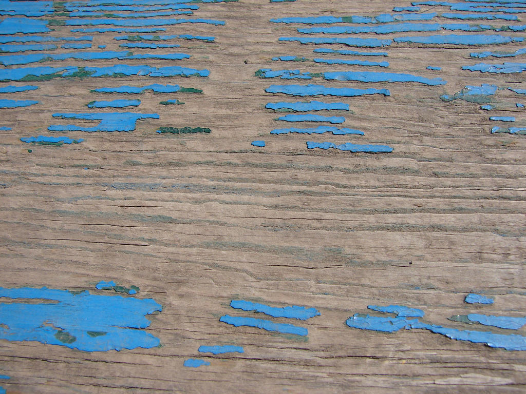 Chipped Blue Paint Texture