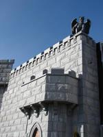 Castle Wall Devil Gargoyle 3 by FantasyStock
