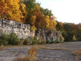 Autumn Cliff Stock Scenery 23 by FantasyStock