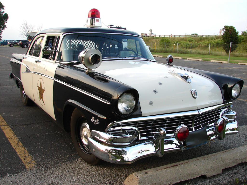 Vintage Police Car 1 by FantasyStock on DeviantArt