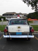 Vintage Police Car 2 by FantasyStock