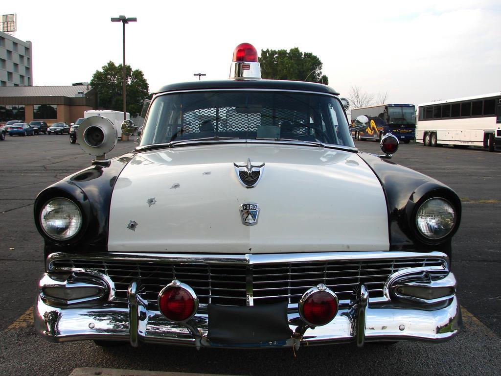 Antique Police Car Show