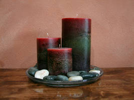 Feng Shui Candles by FantasyStock